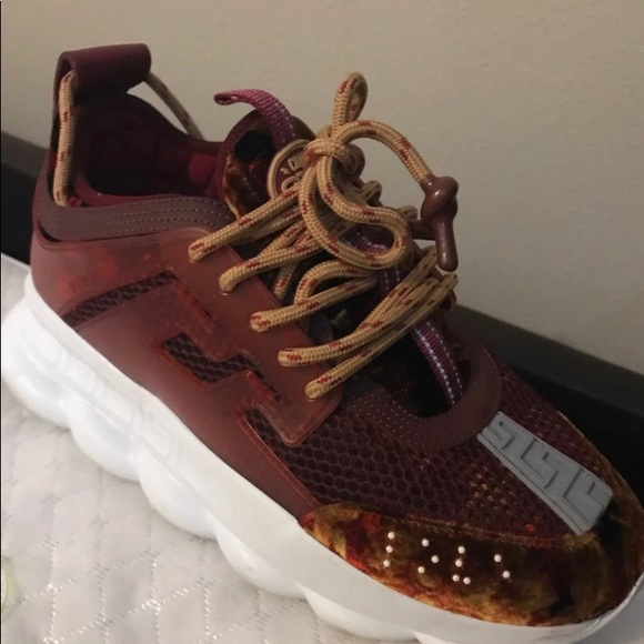 Men Versace Sneakers   Poshmark